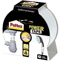 Pattex Adhésifs Réparation Power Tape Etui 25 m Blanc