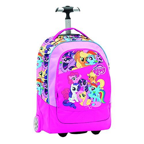 Seven My Little Pony 2C1001606-382 Zaino con Spallacci a Scomparsa, 30 litri, Poliestere, Multicolore