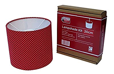 20cm Lampshade Making Kit for Pendants Or Table Lamps by Needcraft
