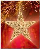 Holzsterne Lasercut 40cm 15 LED Weihnachtsdeko Weihnacht X mas