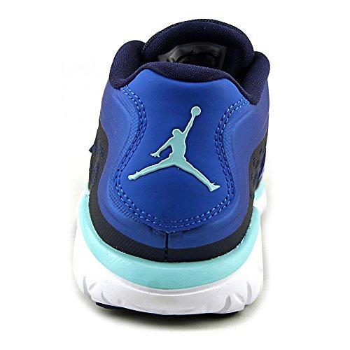 Nike  Jordan Flight Flex Trainer 2, Chaussures spécial basket-ball pour homme Multicolore - Azul / Blanco (Midnight Navy/Copa-Soar-White)