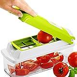 Genius Nicer Dicer Plus - Decoupe facile Legumes et fruits - 11 Pieces