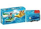 Outletdelocio.. Playmobil 6980. Moto de Agua con Banana y Motor...