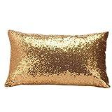 monrose Sequins Sofa Bed Home Decoration Festival Pillow Case Cushion Cover-Dekor Kissenbezug-Für Autos Wohnzimmer Schlafzimmer Deko-Kopfkissen-Bezug Kuschelkissen-Hülle-Haus Dekoration
