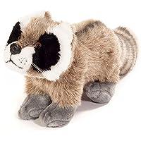 Preisvergleich für Plüschtier Waschbär - von STEINER - Kuscheltier handgefertigt |WWF grau-weiß-brauner Plüsch-wasch-bär | für Kinder & Erwachsene | Geschenk-Idee für Weihnachten, Ostern, Geburt
