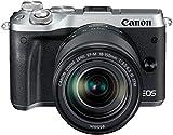 Canon EOS M6 + EF-M 18-150mm 1:3.5-6.3 IS STM MILC 24.2MP CMOS 6000 x 4000pixels Black,Silver - Digital Cameras (24.2 MP, 6000 x 4000 pixels, CMOS, Full HD, Touchscreen, Black, Silver)