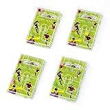Fussball Flipper Pinnball Spiel Fussball-Mottoparty Mitgebsel Gastgeschenke12 Stück mit Palandi® Sticker