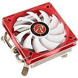 RAIJINTEK Zelos Procesador Enfriador - Ventilador de PC (Procesador, Enfriador, 9 cm, Socket AM2, Socket AM3, Socket AM3, Socket AM3+, Socket FM1, Socket FM2, Socket FM2+, 800 RPM, 1400 RPM)