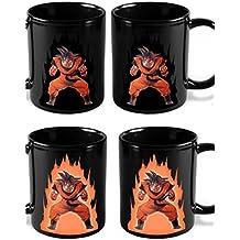 Dragon Ball Z Heat Reactive Color Changing Coffee Mug (Goku) by B&D