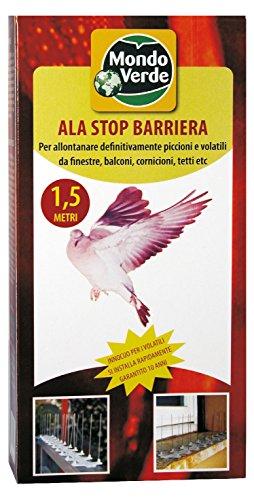 MONDO Verde rEP03 – Barrière Anti oiseaux de 1.5 m, couleur blanc