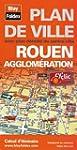 Plan de Rouen et de son agglom�ration