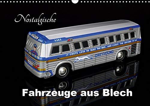 Nostalgische Fahrzeuge aus Blech (Wandkalender 2020 DIN A3 quer): Sammlermodelle im Bild (Monatskalender, 14 Seiten ) (CALVENDO Hobbys)