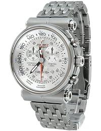 Formex 4 Speed 15001.3042 - Reloj de caballero de cuarzo, correa de titanio color plata