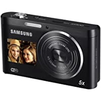 Samsung DV300F SMART Compact Digital Camera - Black (16.0MP, 5x Optical Zoom) 3.0 inch LCD (discontinued by manufacturer)