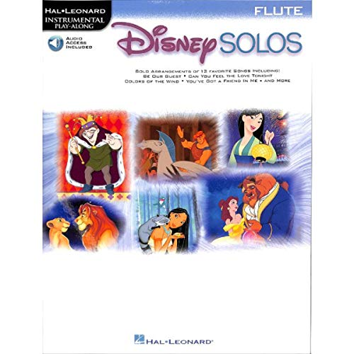 Disney Solos for Flute - Flöte Noten [Musiknoten]