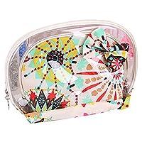 Millya 3Pcs Multifunctional Waterproof Make-up Cosmetic Bag Travel Bathing Toiletry Bag White