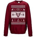 Christmas Harry Pullover Eule Brillen