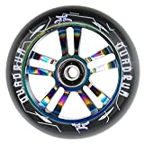 AO Scooters Quadrum Wheel 100mm incl. Titen Abec 7 Oilslick + Fantic26 Sticker