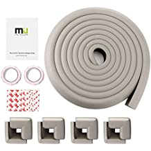 MIU COLOR® Table Edge Corner Guards for Baby Safety, Table Edge Cushion Protector for Home Safety with 8 Corners - 13 ft (Grey)