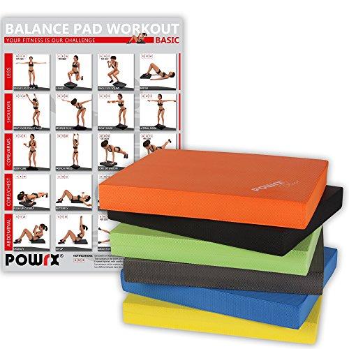 Balance Pad Ideal zum Training von Gleichgewicht, Stabilität und Koordinationstraining Verschiedene Farben