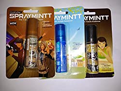 Spraymintt Mouth Freshener (IceMint, Chocolate, Cold Coffee)