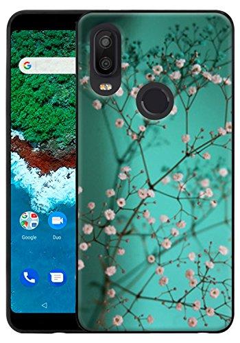 CMID BQ Aquaris X2 Hülle, BQ Aquaris X2 Pro Hülle, Slim Flexible Soft Silikon Bumper Handytasche TPU Stoßfest Schutzhülle Abdeckung Case Cover für BQ Aquaris X2 / X2 Pro (A-01)