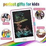 NEWYES - Tablet LCD da 10 Pollici, Display Colorato, Blocco Note Elettronico per Bambini e Adulti (Rosa)