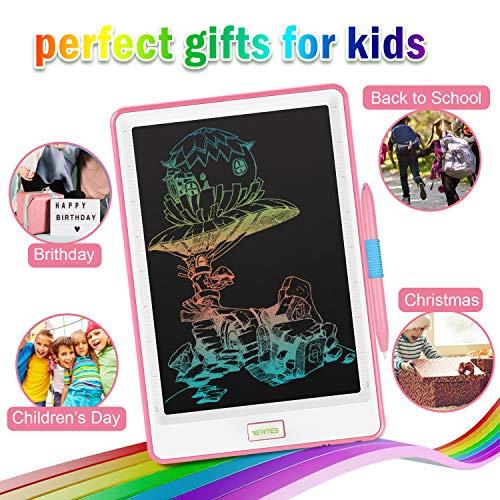 NEWYES Tablet LCD da 10 Pollici Display Colorato Blocco Note Elettronico per Bambini e Adulti