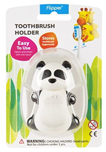 Flipper Toothbrush Holder Fun Animal Panda