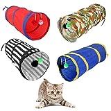 welpenspielzeug katze Hund Kaninchen Welpen Spielen katzenspielzeug tunnel Übungsaktivität Spielzeug Schwarz Weiß - 8