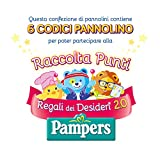 Pampers Sole e Luna Pannolini Maxi, Taglia 4 (7-18 kg) - 108 Pannolini