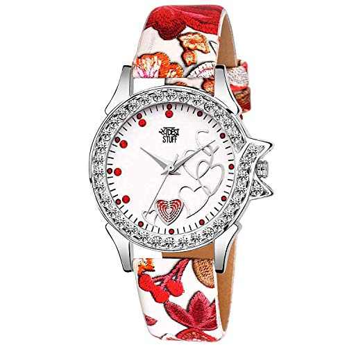 Swadesi Stuff Watches for Girls/Watches for Womens/Watch for Girl/Watch for Women Stylish/Watch for Kids Girls Analogue White Dial Offers