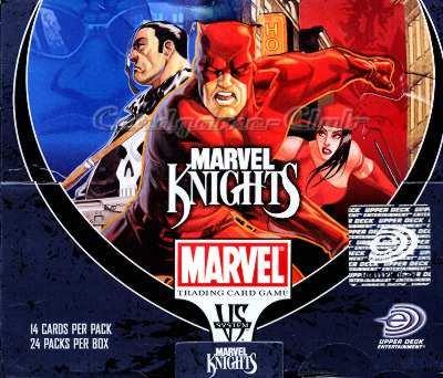 Marvel VS System Trading Card Game Marvel Knights Booster Box 24 Packs (Vs-system-box)