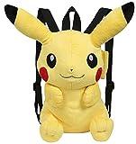 Pokemon–Plüsch Rucksack, Pikachu, 30cm, gelb (Berühmte 760015201)