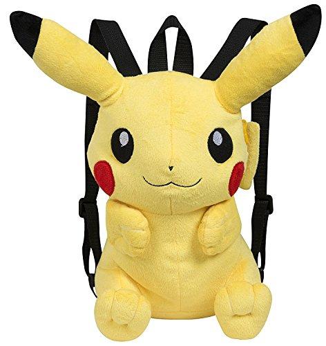 Pokemon-Plüsch Rucksack, Pikachu, 30cm, gelb (Berühmte 760015201)