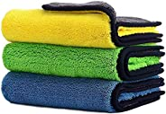 Car Drying Towel,ShowTop Free Microfiber Cleaning Cloth,Premium Professional Soft Microfiber Towel,Super Absor