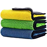 Car Drying Towel,ShowTop Free Microfiber Cleaning Cloth,Premium Professional Soft Microfiber Towel,Super Absorbent Detailing
