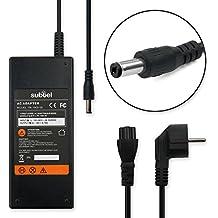 subtel® Fuente de alimentación (19V,90W) para Packard Bell EasyNote MX52 / MX36 / MX37 / MX45 / MX61 / MX65 / MX66 (2.2m) cable de corriente Cargador ordenador portatil