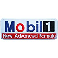 Mobil 1 one synthetic Motor Motorcycle Oil Lubricant Logo Clothing GM03 Patches by Gas Oil Patch