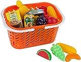 Gigo Einkaufskorb mit Spielzeug-Lebensmitteln - über 40 Teile