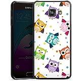Samsung Galaxy A3 (2016) Housse Étui Protection Coque Hibous Motif Motif