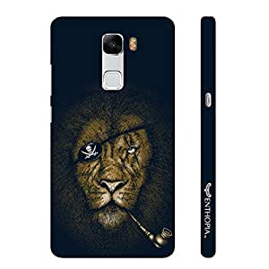 Enthopia Designer Hardshell Case Lion Piracy Back Cover for Huawei Honor 7