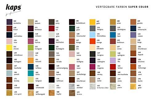 Kaps Super Color â€' Tintura per pelle naturale, sintetica e tessili â€' 500 ml