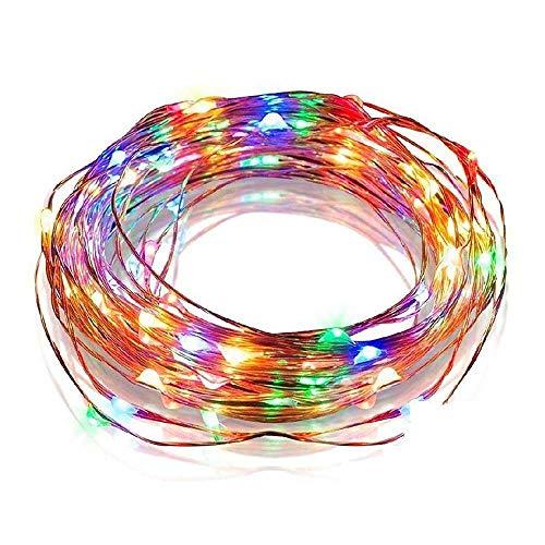 TianranRT String Fee Luz 100 LED enchufe en alimentación iluminación lámpara cobre...