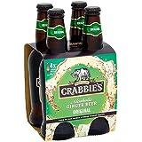 Crabbies alcooliques Ginger Beer 4 x 330ml
