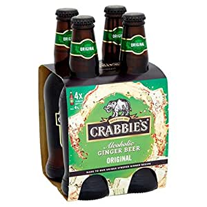 Crabbies Alcoholic Ginger Beer 4 x 330ml