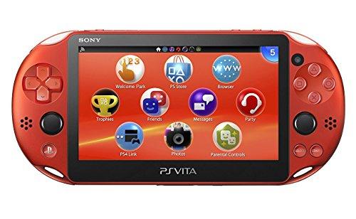 Sony Playstation PS Vita Slim Console Wi-Fi (Metallic Rot)