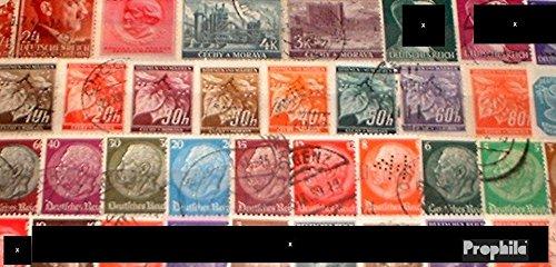 50 Briefmarken (Deutsches Reich 50 verschiedene Marken Drittes Reich mit Nebengebieten (Briefmarken für Sammler))
