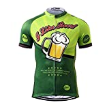 Thriller Rider Sports® Uomo I Like Beer Sport e Tempo Libero Abbigliamento Ciclismo Magliette Manica Corta Medium