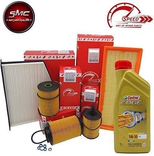Ölwechsel-Set 4 Filter + 6 Liter Motoröl 5W30 Original Speed (öl Filter 997)